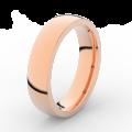 Prsten Danfil DLR3887 růžové zlato 585/1000 bez kamene povrch lesk