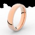 Prsten Danfil DLR3886 růžové zlato 585/1000 bez kamene povrch lesk