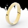 Zlatý dámský prsten DF 3017 ze žlutého zlata, s brilianty