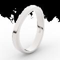 Zlatý dámský prsten DF 3017 z bílého zlata, s brilianty