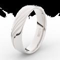 Zlatý dámský prsten DF 3044 z bílého zlata, s briliantem