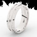 Zlatý dámský prsten DF 3048 z bílého zlata, s brilianty