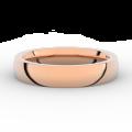 Prsten Danfil DLR3886 červené(růžové) zlato 585/1000 bez kamene povrch lesk
