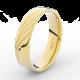 Prsten Danfil DLR3045 žluté zlato 585/1000 bez kamene povrch lesk