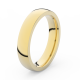 Prsten Danfil DLR3886 žluté zlato 585/1000 bez kamene povrch lesk